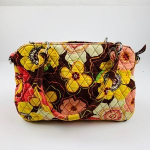 Vera Bradley Buttercup Quilted Purse Hobo Hand Bag